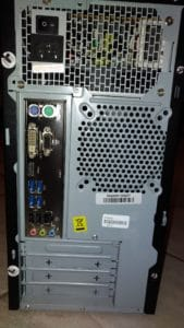 Personal Computer assemblato usato Modello # 2