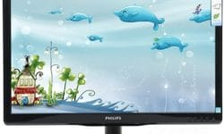 Philips Monitor Led 19 5MS 200CD/M2 Black